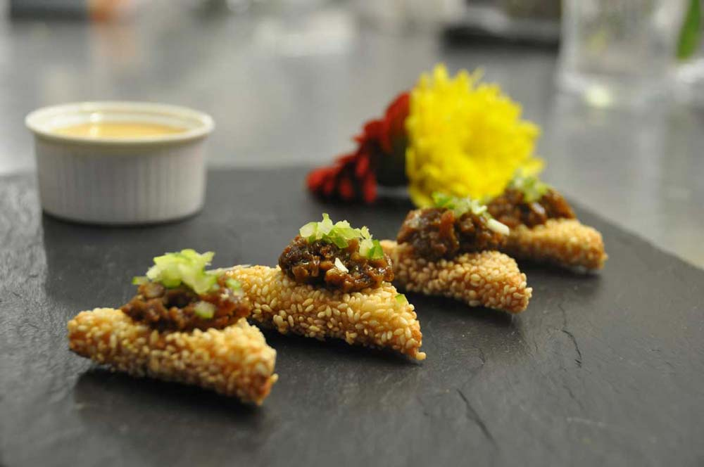 Hoisin Duck Canape