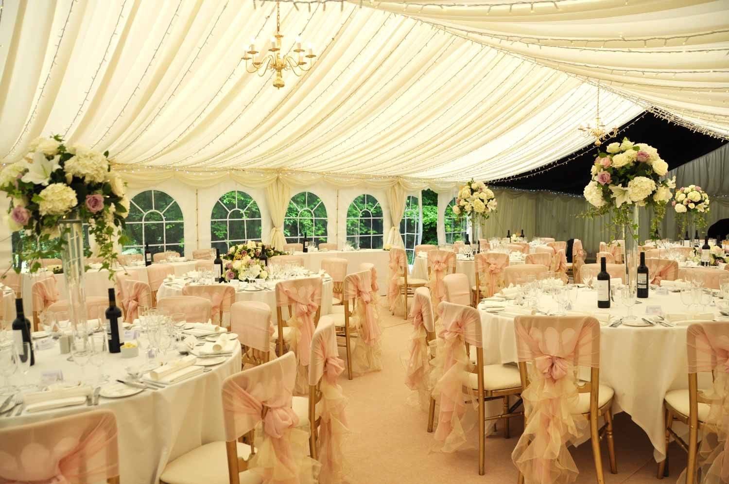 wedding ideas kent wedding marquee interior ideas weddings in sussex 28235