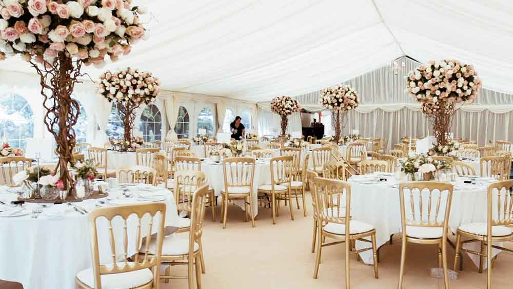 Marquee Hire in Crowborough