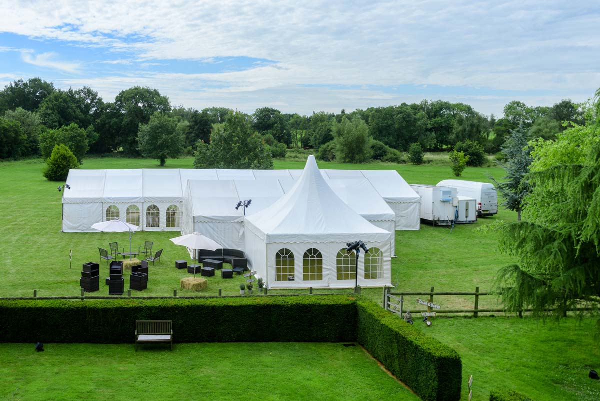 Marquee hire in Tenterden