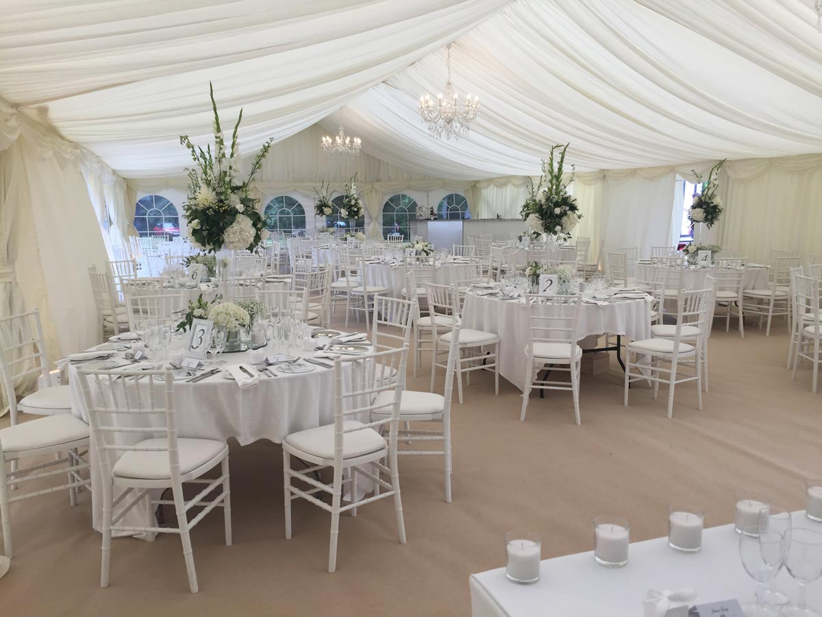 All Inclusive Marquee Wedding Packages