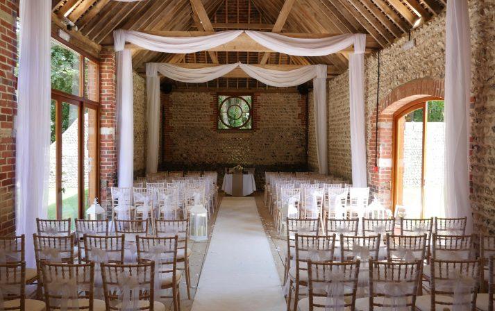 Weddings at Cissbury Barns