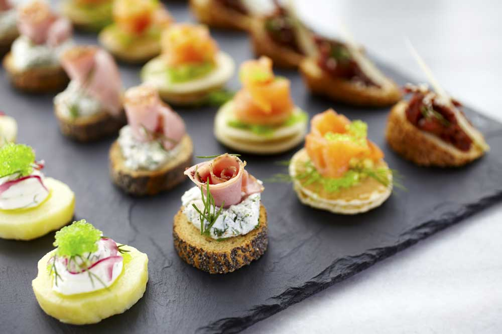 Mixed Canapes