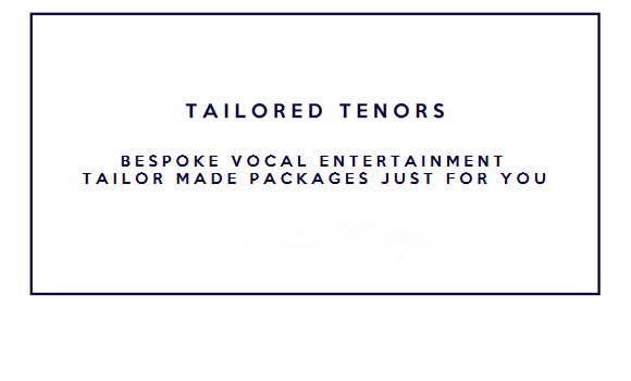 Tailored Tenors Logo